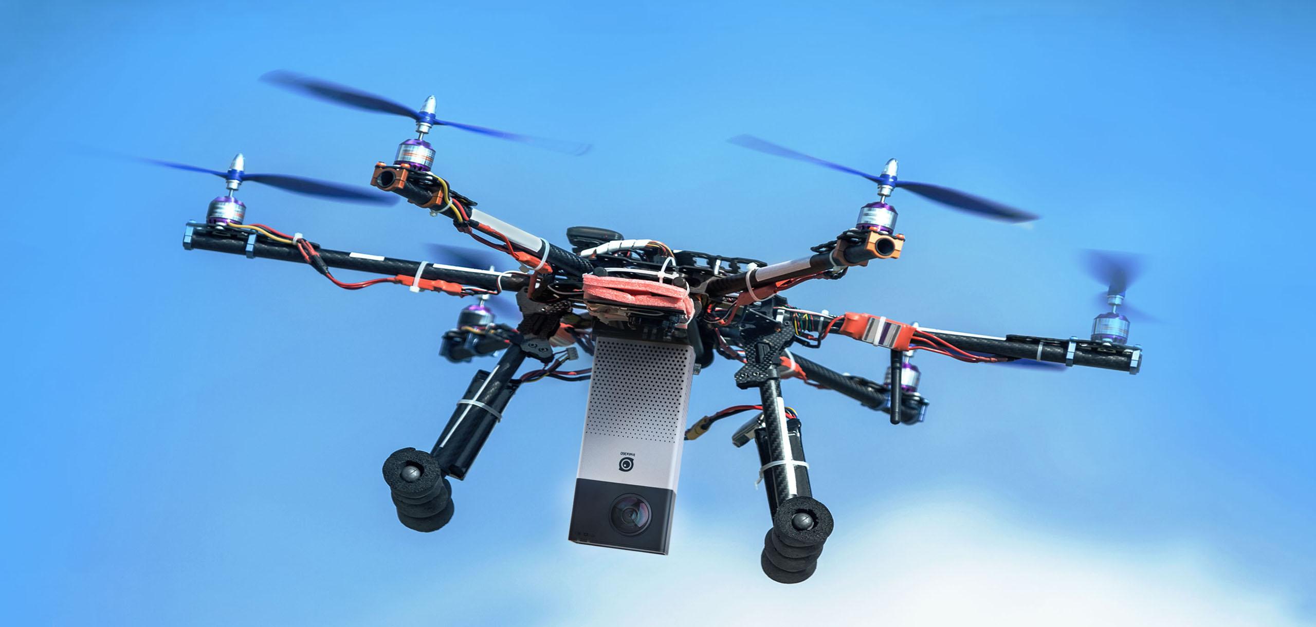 video drone 360